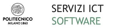 Servizio software di Ateneo